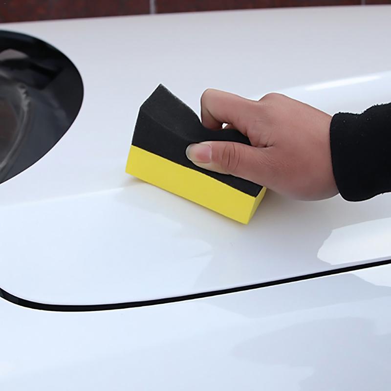 Image 5 - Профессиональный 2 шт. многофункциональная автомобильная губка для очистки EVA Бытовая Губка пикового представления автомобильные аксессуары-in Мастика с блеском для автомобильных красок from Автомобили и мотоциклы