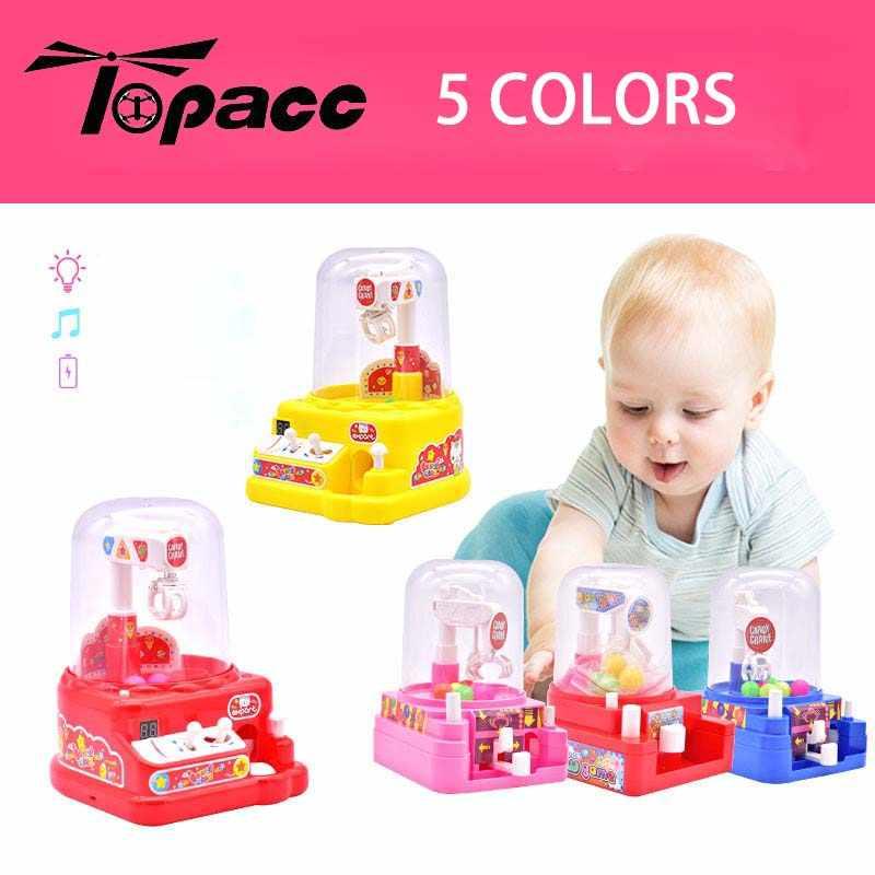 Elétrica Mini Grabber Bola Mão Operado Açúcar Máquina Agarrando Brinquedos para Crianças Educacional Toy Figuras de Ação Crianças Jogo Do Presente