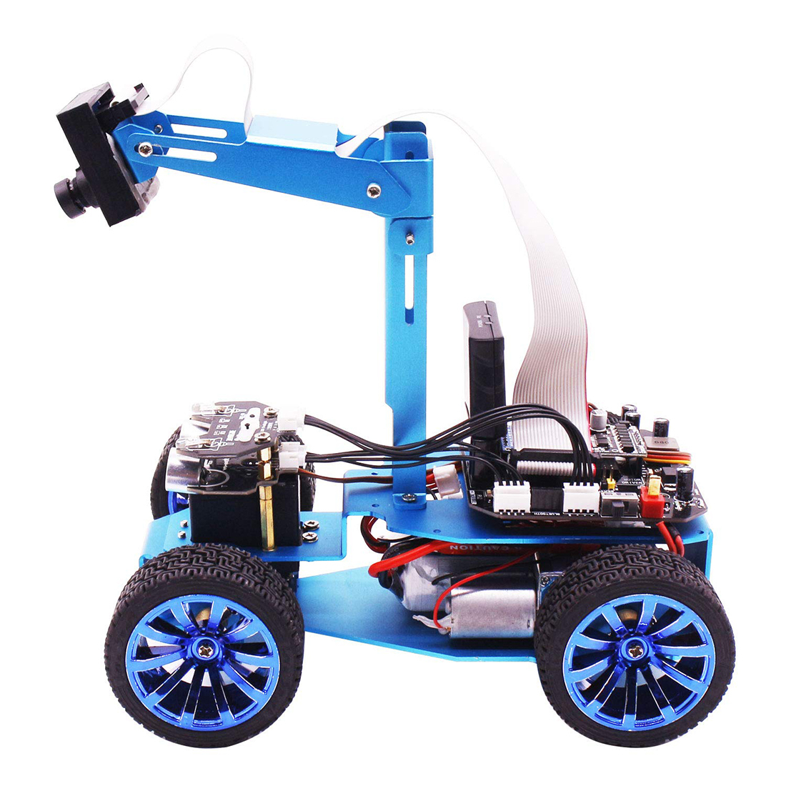 2019 High Tech Visual Robot Camera Tracking Oled Screen Independent Steering Robotics High power Motor Programmable Car Toys