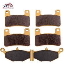 Front and Rear Brake Pads for Suzuki GSXR750 GSXR600 GSXR 750 600 06-10 GSXR1000 GSXR 1000 07-10 GSX1300R Hayabusa 1300 08-12 2pcs front floating brake disc rotor for suzuki gsxr600 gsxr750 2008 2009 2010 2011 2012 2013 2014 gsxr1000 gsxr 600 750 1000