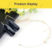2.4G Wireless Microphone Loudspeaker 40m Transmission Dual Ear Headset MIC