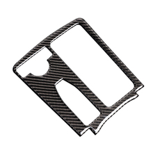 For Mercedes Benz C Class W204 C200 C300 C180L E Class W212 Carbon Fiber Center Control Water Cup Panel Cover LHD / RHD
