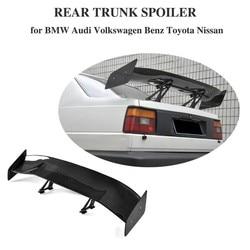 Dla BMW F80 E46 E90 E92 M3 F82 M4 F87 M2 E60 F10 M5 F12 M6 E82 1M węgla z włókna węglowego tylny Spoiler bagażnika Boot Lip