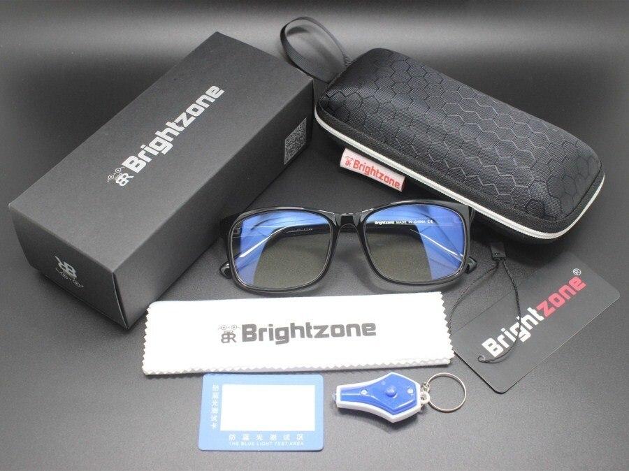 322ad159af MORAKOT Anti azul rayos computadora gafas Clip ojo proteger día y noche  resistente a la radiación