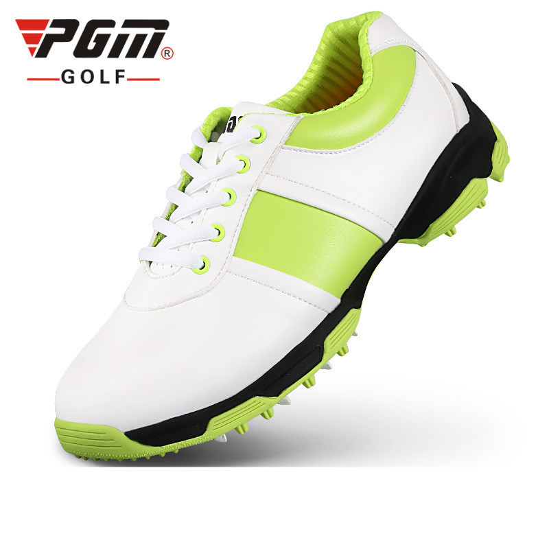Ultra Shoes Sale Women 2018 New Female Models Pgm Golf Shoes Anti-skid Microfiber Leather Patent, 3d Patented Air Guide Groove