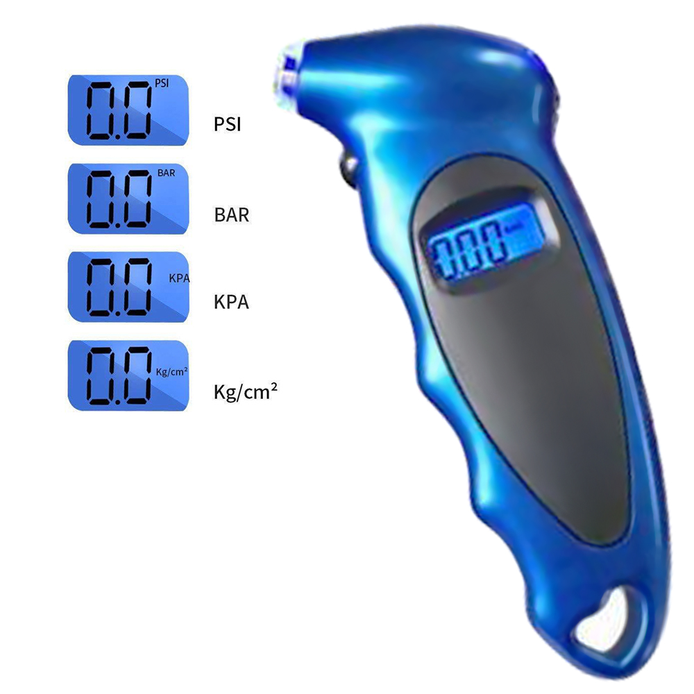 0 100 PSI Tire Pressure Gauge High precision Digital Tire Pressure Monitoring Tester With Backlight for Car Tire Pressure Parts in Tire Pressure Monitor Systems from Automobiles Motorcycles