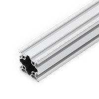 New 4040 Double T Slot Aluminum Extrusion 40x40mm Aluminum Profile Extrusion Frame Based on 2020 For CNC Laser Engraving Machine