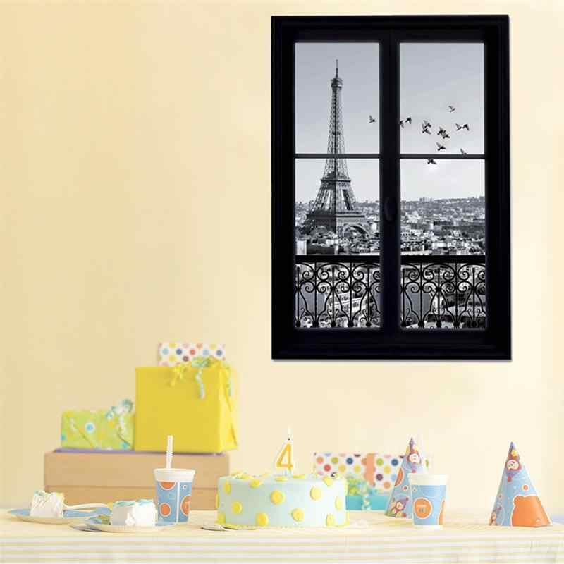 PARIS FRANCE Wall Window Decal Sticker Vinyl Art Decor Home 3d Removable Mural