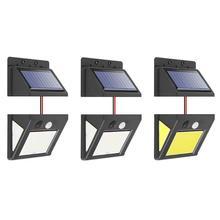 30 40 60 LED światła słonecznego na zewnątrz ruchu PIR czujnik podczerwieni oszczędzania energii oddzielić wodoodporna ogród lampa stoczni ściany oświetlenie ścieżki tanie tanio Brak Nowoczesne 5 V (wersja) Outdoor PIR Motion Sensor alloet Solar Lights Outdoor PIR Motion Sensor Bateria litowa IP45