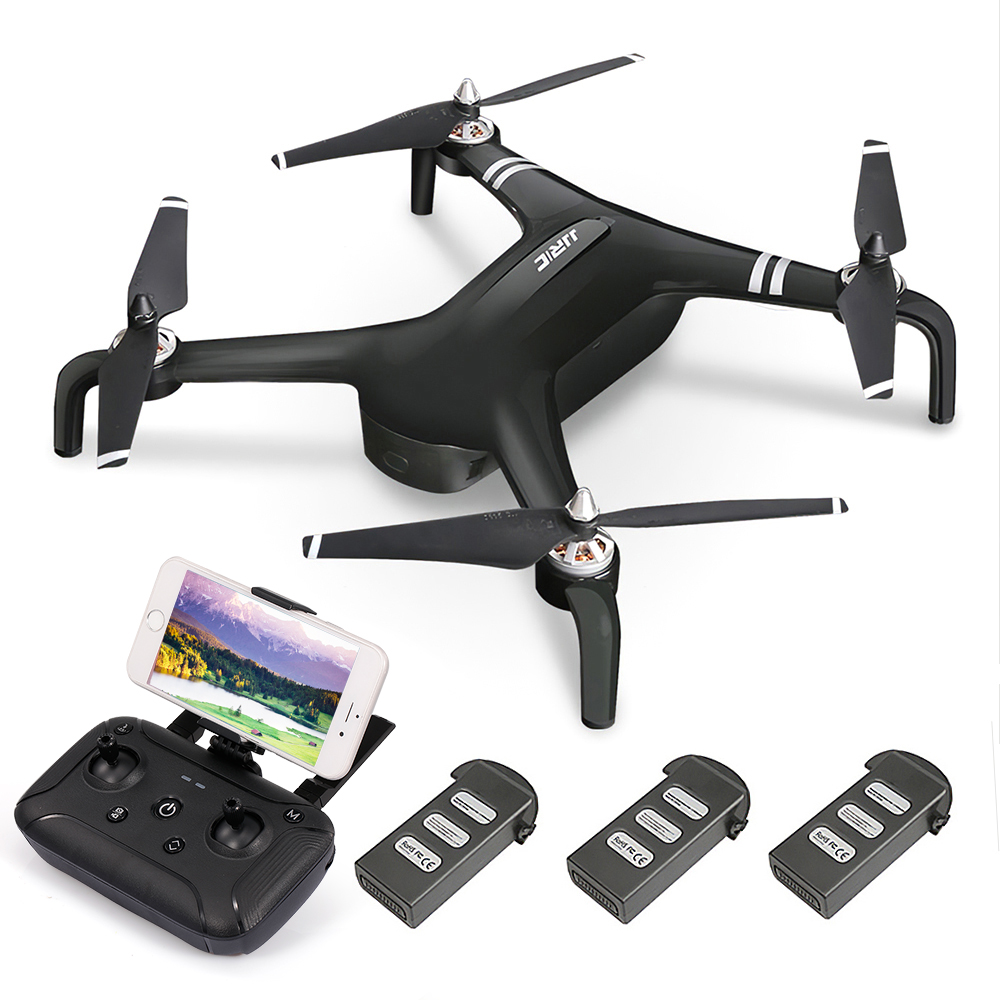 JJR/C RC Drone SMART X7 Brushless GPS 1080 p 5g Wifi Maintien D'altitude Suivre Mode En Orbite Fly RC Quadcopter 3 Batterie Dron Enfants Jouet