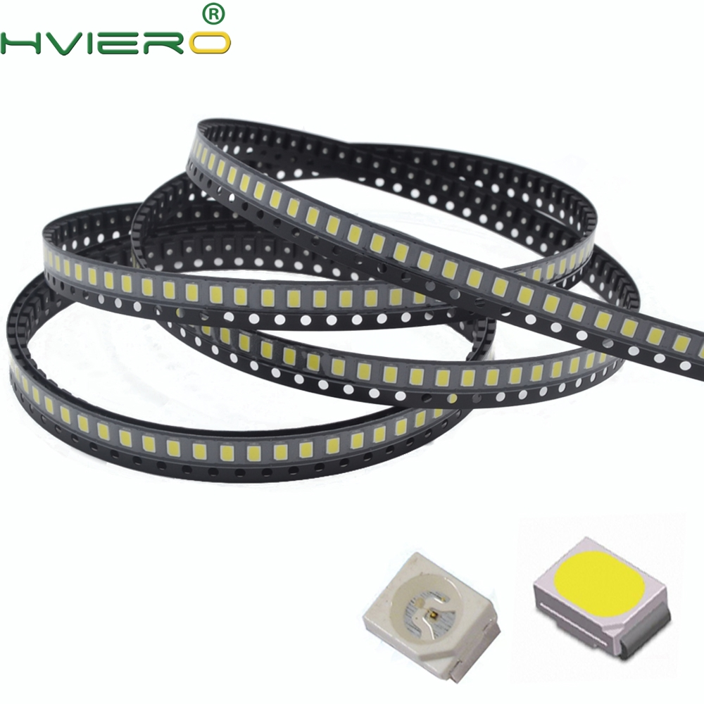 100pcs 3020 White Red Blue Green Yellow Light SMD Light-emitting Diode SMD SMT 8-10 LM LED Lamp Bead Diodes