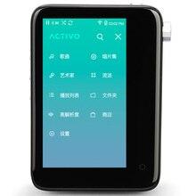 Оригинальный IRIVER Активо CT10 Hi-Fi плеер без потерь плеер сенсорный экран MP3 плеер новые продукты подарок специальный кожаный чехол