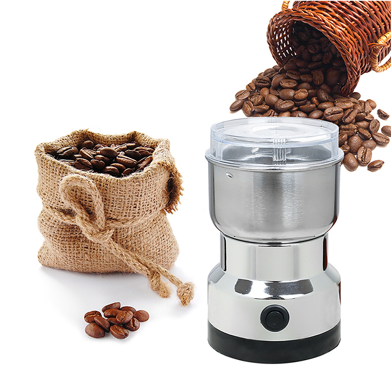 Electric Coffee Grinder Stainless Steel Blade Automatic ...