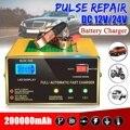 12 V/24 V 200000mAh автомобильный полностью автоматический Электрический свинцово-кислотный аккумулятор интеллектуальное зарядное устройство им...