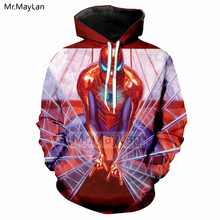 Hipster 3D Printed Cartoon Spider Man: Into the Spider Verse Hoodie Men/women Streetwear Hat Sweatshirt Boys Long Sleeve Clothes цена