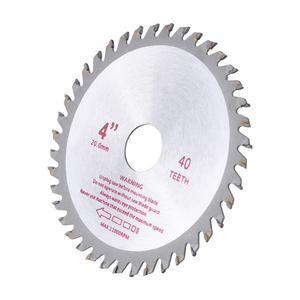 Image 4 - Hoja de sierra Circular de carburo cementado de 4/7 pulgadas, 40T, diámetro del orificio 20mm/25,4mm, herramientas eléctricas de corte de madera