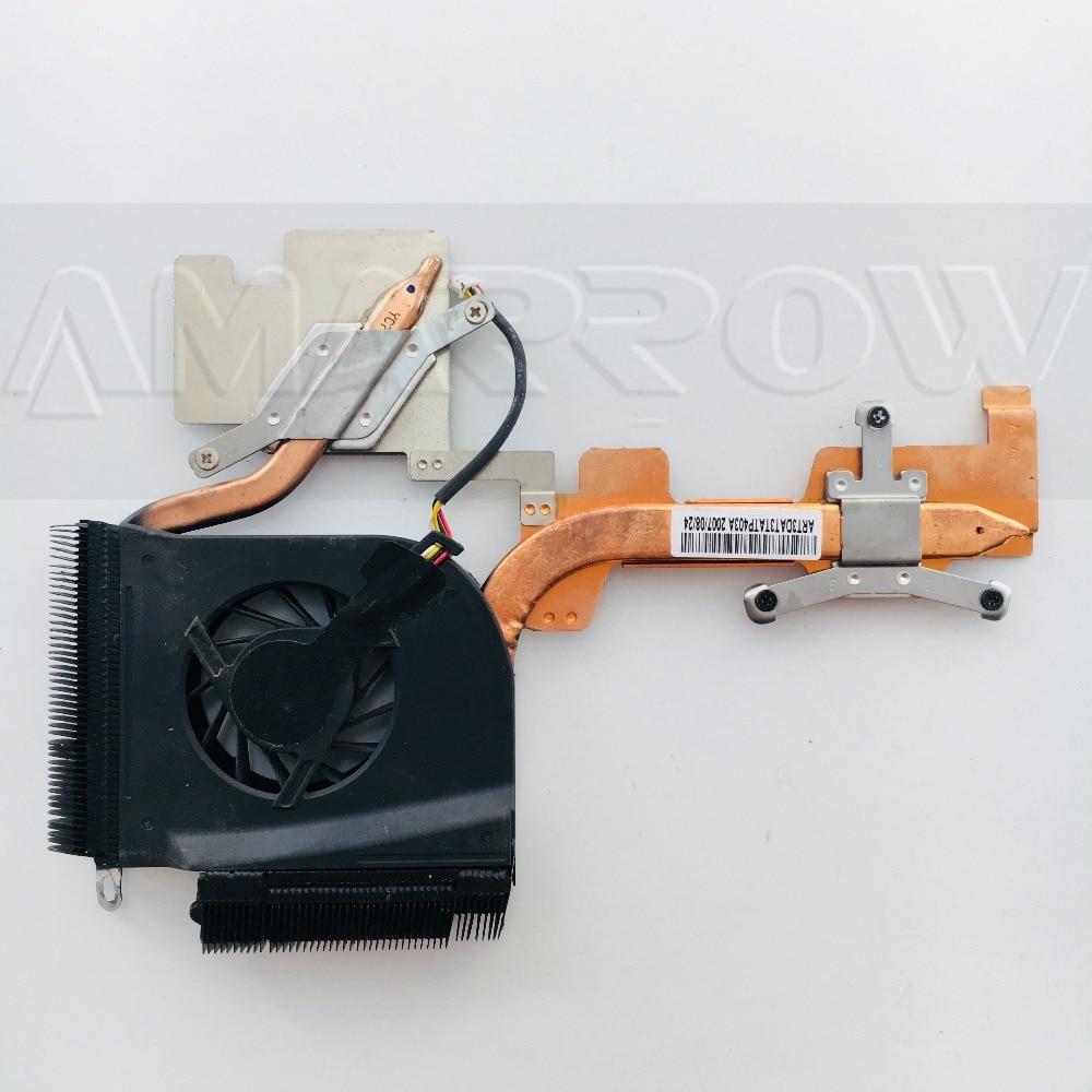 Original free shipping laptop heatsink cooling fan font b cpu b font cooler For HP DV6000