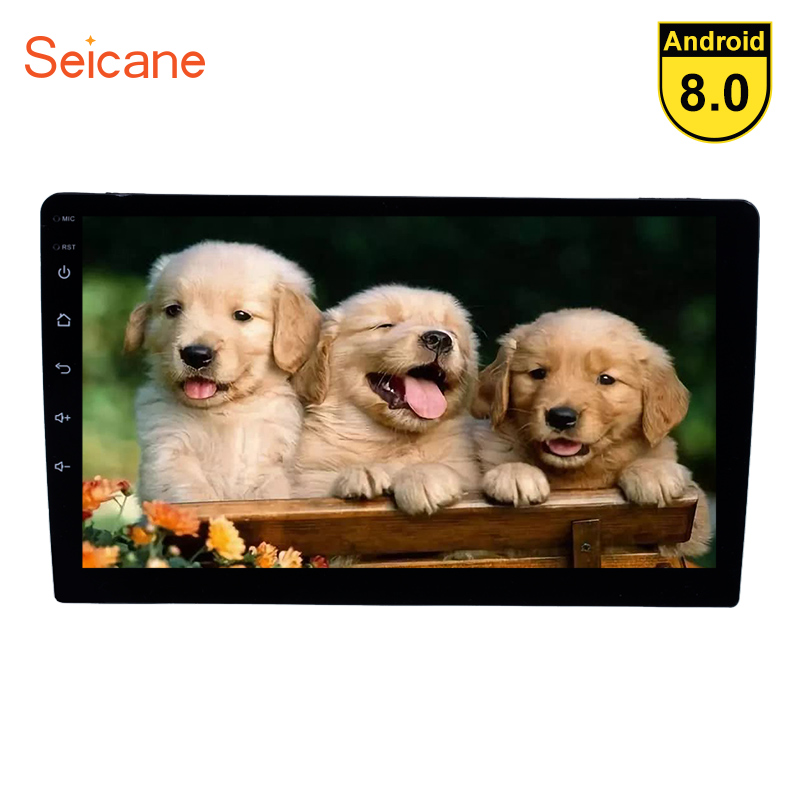 Seicane 1 Din Универсальный 9 дюймов Android 8,1/8,0 автомобиля радио gps навигации головное устройство плеер TPMS руль управление Зеркало Ссылка