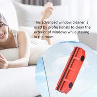Широкий диапазон предотвратить царапины Двусторонняя магнитное устройство для чистки окон портативный ветровое стекло автомобиля очисти...
