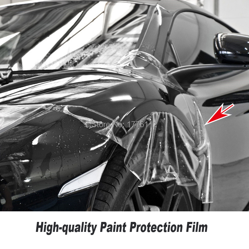 Paint Protection Film >> Us 290 0 Self Healing Tph Material Ppf Vinyl For Car Paint Protection Film Best Transparent Ppf Size 1 52 15m Roll High Quality Series On Aliexpress