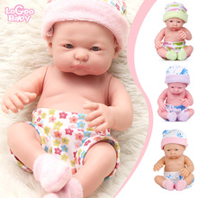 Logeo Baby 10 Vinyl Reborn Doll Kids toys Dolls Lifelike Soft Newborn bebes reborn lol doll Christmas Birthday Gifts