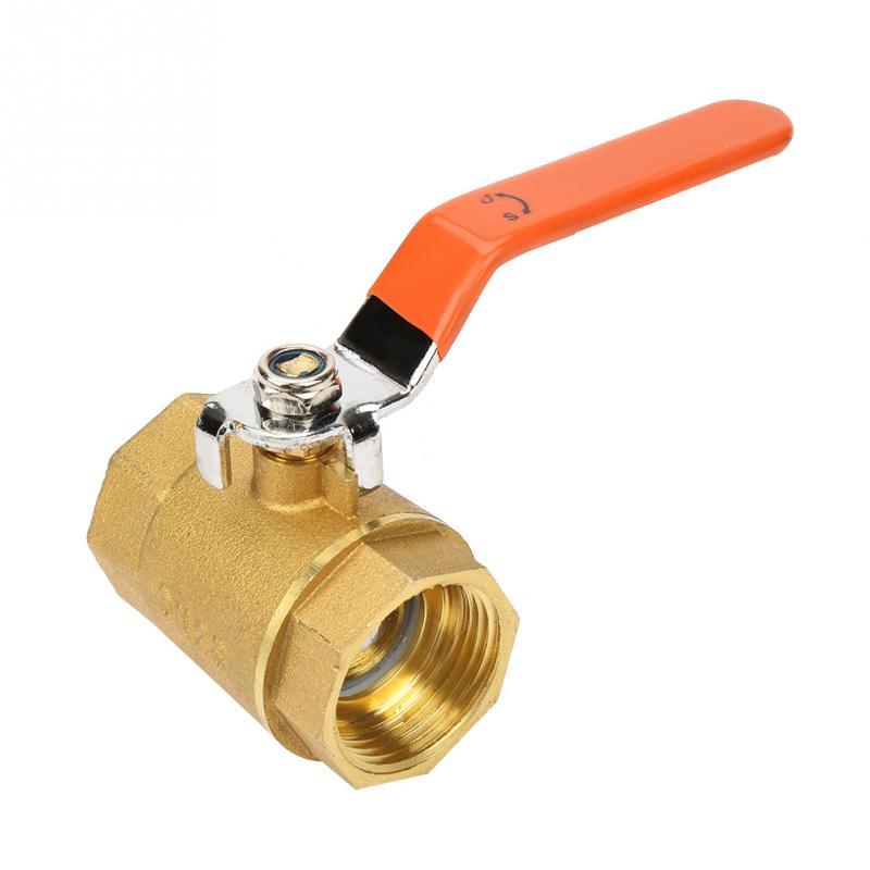 Heimwerker Ventil Hot 1 Stück Dn25 1 bsp Messing Rohr Ball Ventil 1.6mpa Für Wasser Öl Gas Schmerzen Haben