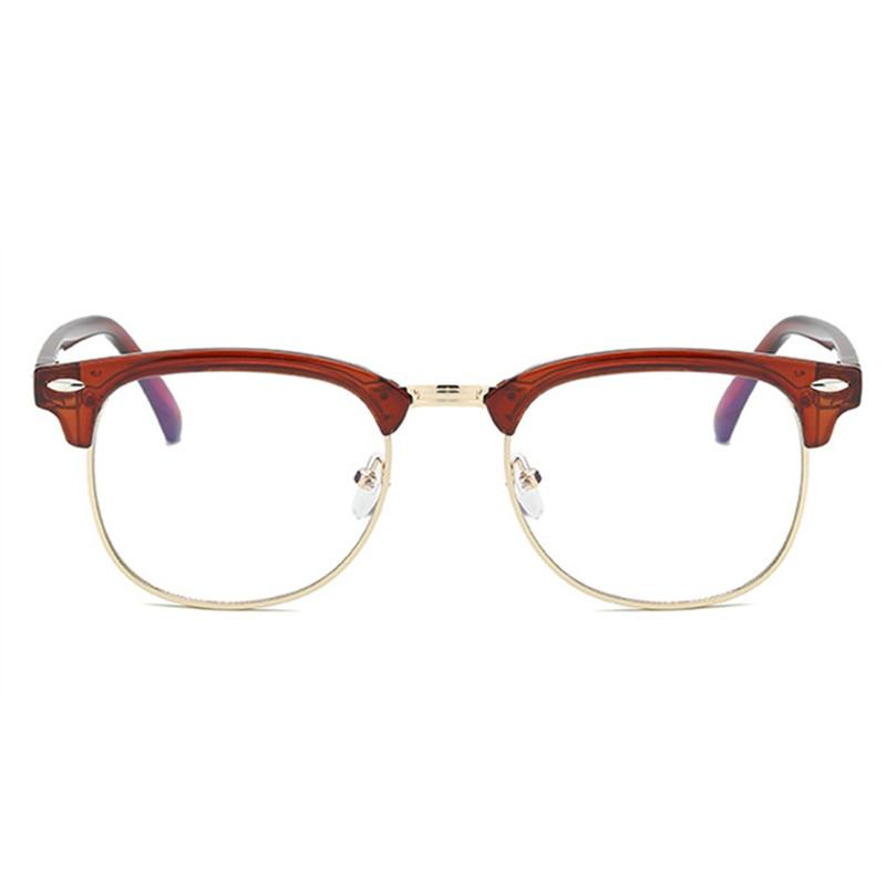 39fb09953f Imwete Retro acabado miopía gafas hombres mujeres marco medio de gafas  estudiante corto de vista gafas-1,0-1,5-2,0 -2,5-3,0-3,5
