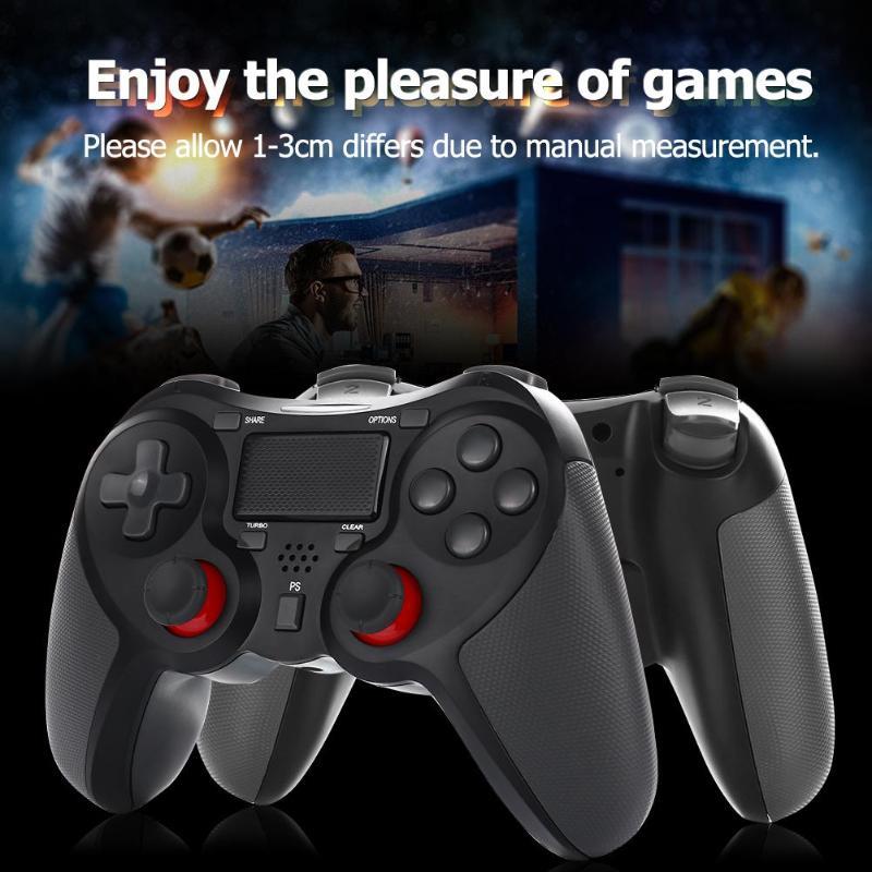Manette Bluetooth sans fil manette de jeu manette Joypad manettes pour PlayStation 4 PS4 fonction Touchpad Bluetooth sans fil