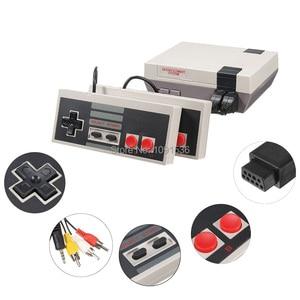 Image 4 - Mini TV portable famille loisirs Console de jeu vidéo AV Port rétro intégré 620 jeux classiques double manette de jeu lecteur