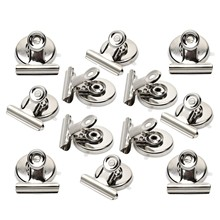 Strong Magnetic Clips-Heavy Duty Refrigerator Magnet Clips-31mm Wide Scratch Safe-Clip Magnets Best for House Office School Us