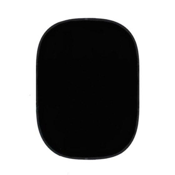 2x1.5 m noir/blanc toile de fond réversible Studio pliable fond de mousseline