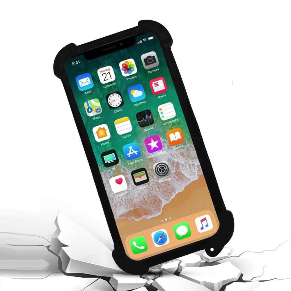 Для Oukitel K10000 чехол 5,5 дюймов Универсальный силиконовый бампер мягкий чехол для мобильного телефона чехол для Oukitel K10000 Max на руку