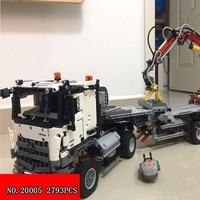 20005 Edition And Lepin Technic Series Heavy Children Alpinia Plastic 2793pcs Technic Block Truck Building Blocks