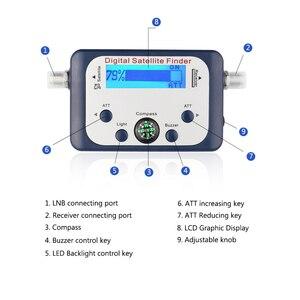 Image 4 - Powstro universel GSF 9506 numérique Satellite trouveur TV Satellite Mini antenne Satellite avec écran LCD pour la télévision