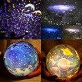 Ночник Романтический планетарий Звездный Небесный проектор Космос свет ночное небо земная лампа