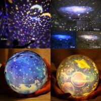 Night Light Romantic Planetarium Star Celestial Projector Cosmos Light Night Sky Earth Lamp