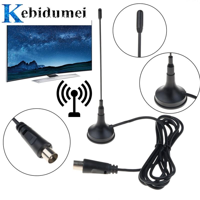 Kebidumei DVB-T2 Mini TV Antenna 5DBi Indoor Antenna Aerial Digital For DVB-T TV HDTV Easy To Install