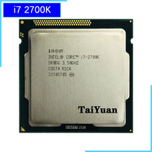 Intel Core i7-2700K i7 2700K 3.5 GHz Quad-Core CPU Processor 8M 95W LGA 1155