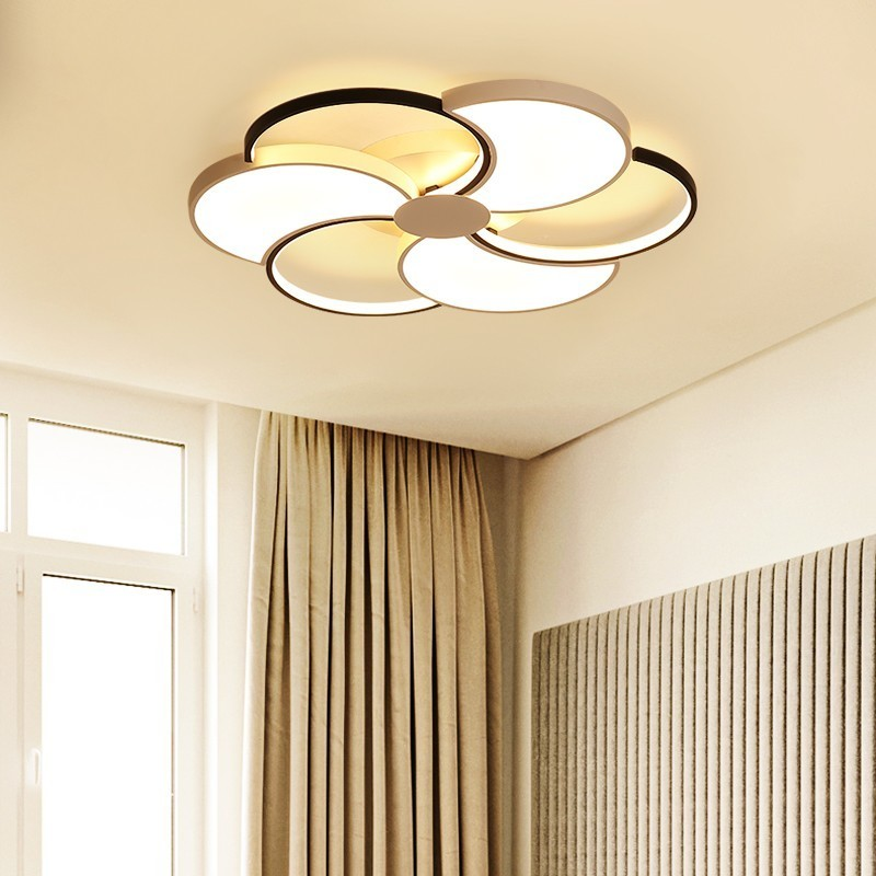 Dimmable LED Ceiling Light For Living Room Dining Bedroom Luminarias Para Teto New Modern Lamp Indoor Home Lighting FixtureDimmable LED Ceiling Light For Living Room Dining Bedroom Luminarias Para Teto New Modern Lamp Indoor Home Lighting Fixture