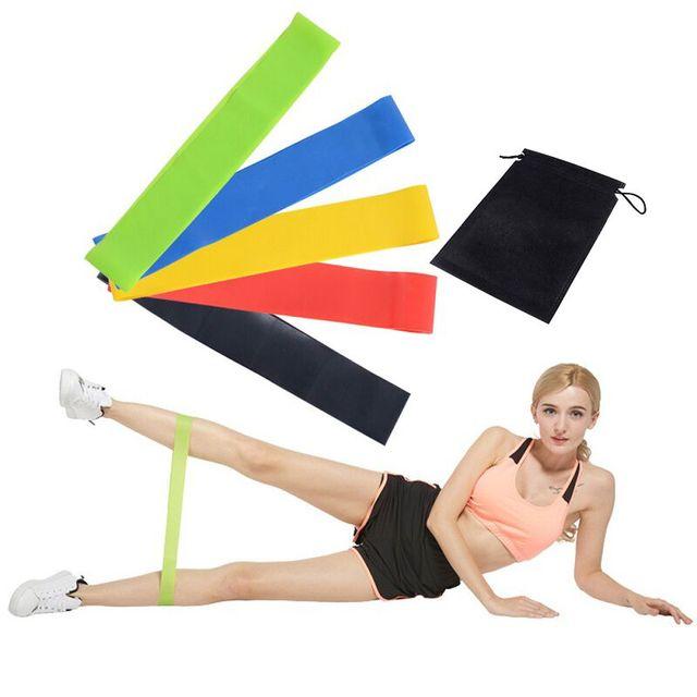 Bandas de Resistência de Loop de Goma de Fitness Elásticos Para Ginástica Esportes Goma de Borracha De Goma Para O Treinamento de Fitness Workout Fitness Expansor