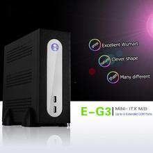 E-G3 Mini-ITX сервер башни 6xcom Порты и разъёмы встроенный SGCC корпуса компьютера шасси