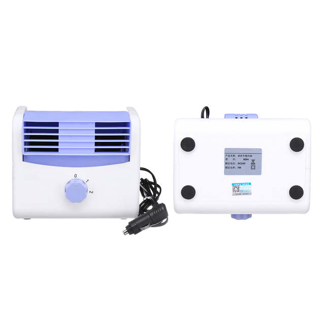 12V/24V Car Cooler Fan Auto Air Conditioner Cooling Speed