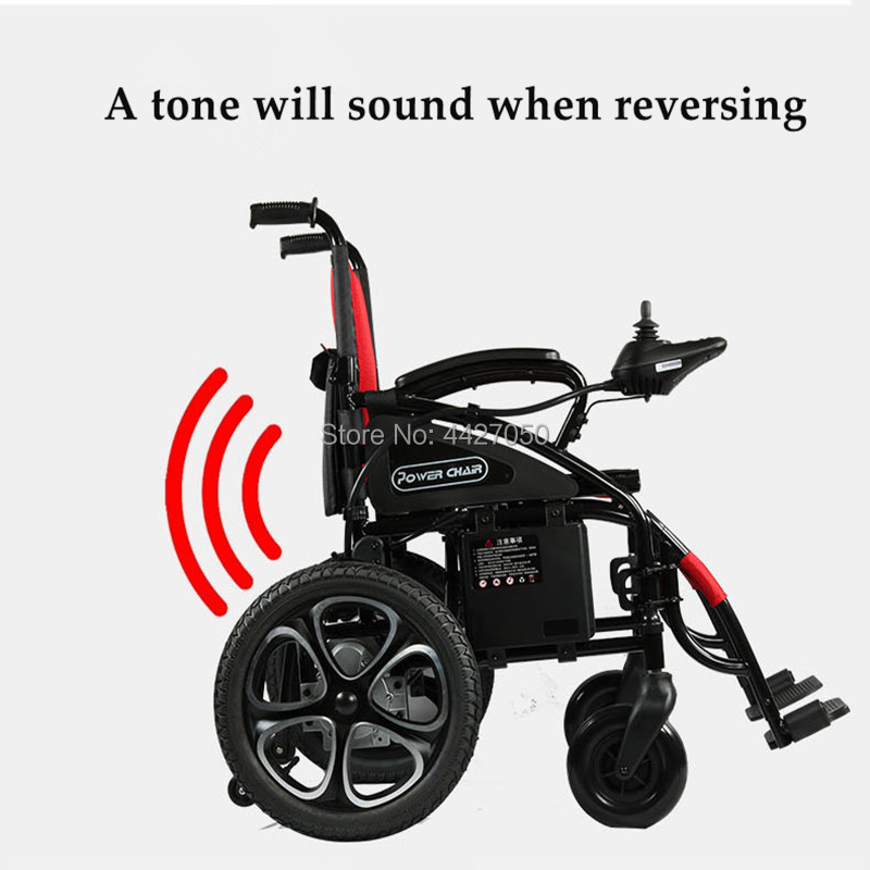 Free shipping 2019FOLDING POWER ELECTRIC font b WHEELCHAIR b font FOR font b DISABLED b font