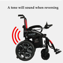 Free shipping 2019FOLDING POWER ELECTRIC WHEELCHAIR FOR DISABLED PEOPLE W5213