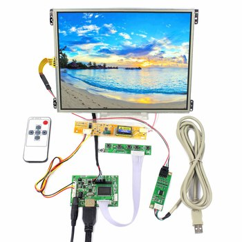 10.4inch HT10X21-311 1024X768 IPS LCD Screen With Touch Panel  and HDMI LCD Controller Board