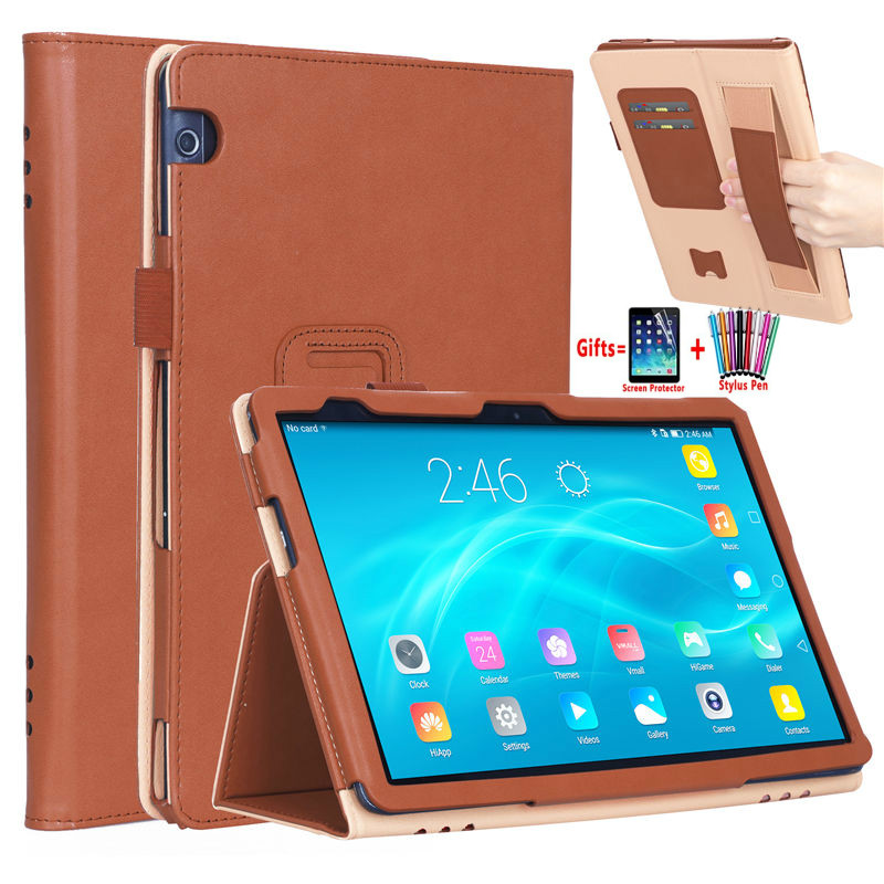 Luxury Stand Case For Huawei Mediapad T5 10 AGS2-W09 AGS2-L09 AGS2-L03 AGS2-W19 10.1