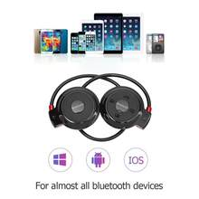 Mini 503 FM Radio Headphone Sport Music Stereo Earphone Wireless Bluetooth Headphones for Micro SD Card Slot Headset Promotion(China)