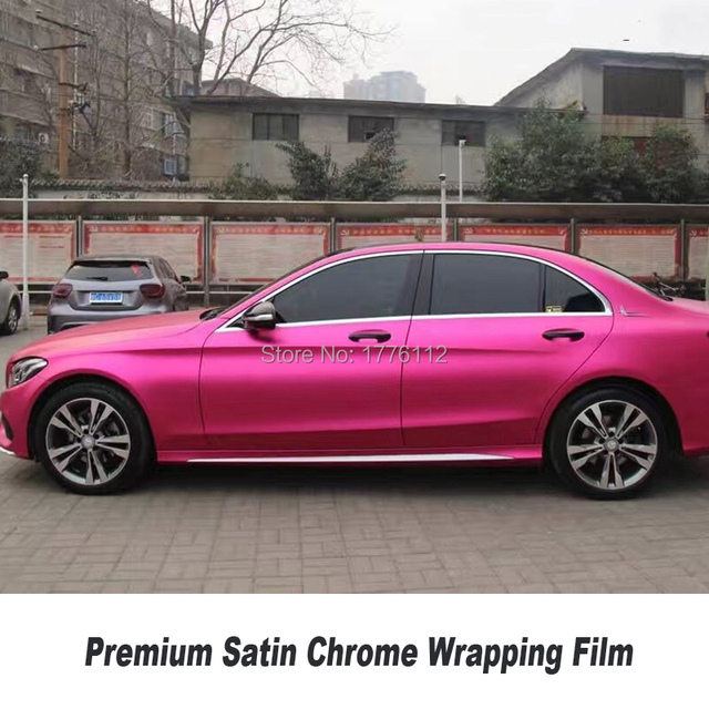 Colors Satin Chrome Vinyl Car Premium - Wyomingvalleysportshot