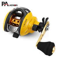 PALAEMON 6.3:1 True 4 + 1 BB Single Arm Water Drop Wheel Magnetic Brake Baitcasting Fishing Reel Right / Left Bait Casting Wheel