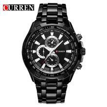 db33c7c9295 Reloj Hombre Relógios Data Homens de Negócios CURREN 8023 Marca de Moda  Casual Simples À Prova
